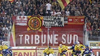 Ein Sieg gegen den Erzrivalen Bern lässt die Bieler Fans immer aufleben