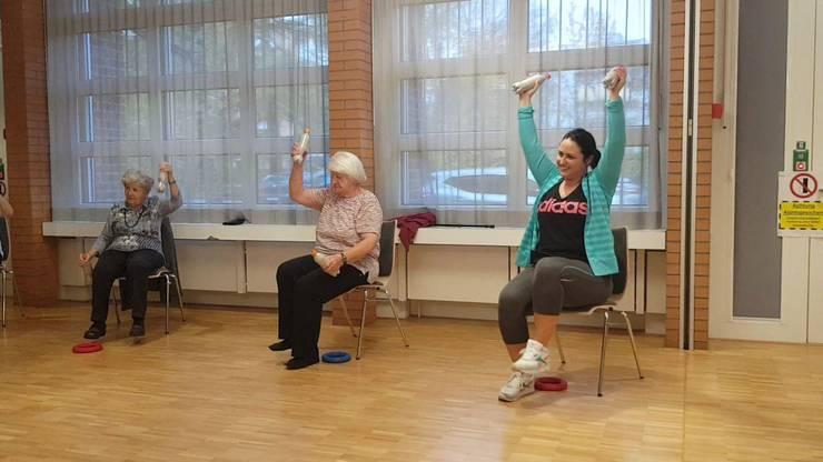 Sport hält fit und ist deshalb gerade im hohen Alter wichtig.