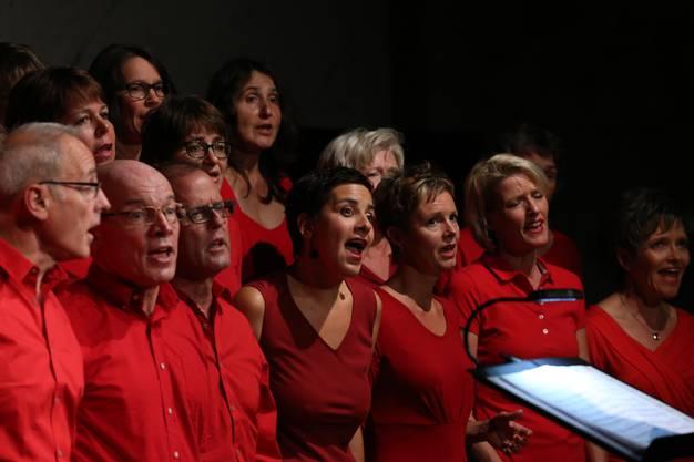 Die Vindonissa Singers in der Trotte Villigen.