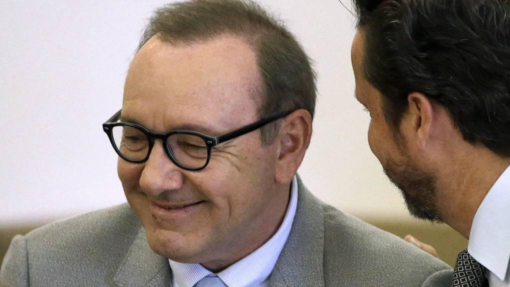 Weitere Klage gegen Schauspieler Kevin Spacey fallengelassen