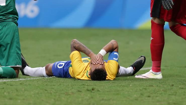Zum Verzweifeln: Superstar Neymar kommt mit Brasilien nicht auf Touren