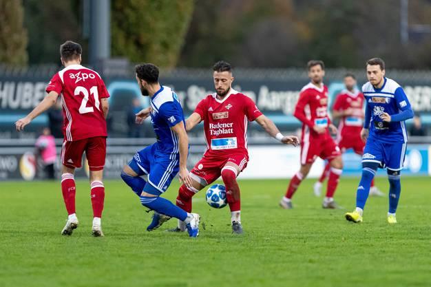 Lange Zeit führte der FC Wohlen dank Ronny Minkwitz (39. Minute) und Davide Giampà (71. Minute).