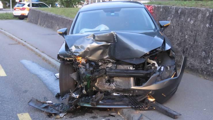 Am Donnerstagmorgen geriet ein Autofahrer auf die Gegenfahrbahn.