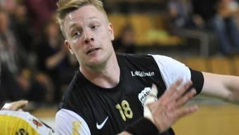 Julian Krieg erzielte für Pfadi Winterthur sieben Tore