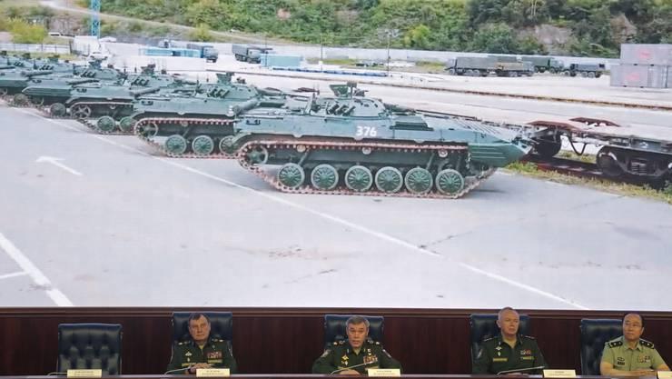 Das Manöver «Wostok» des russischen und des chinesischen Militärs: Es ist das grösste seit Jahrzehnten.