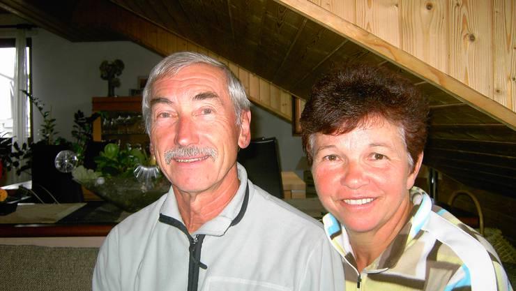 Werner und Hedy Fischer feiern ihre Goldene Hochzeit.