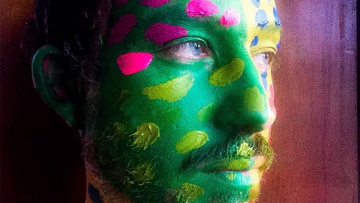 Selbstporträt von Gianluca Venditti.