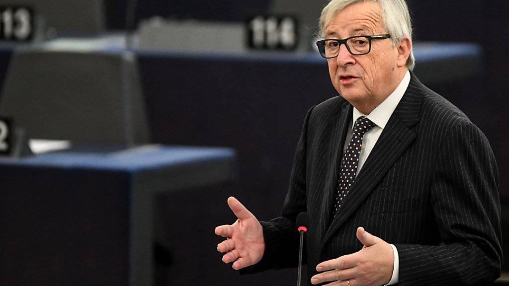 EU-Kommissionspräsident ermuntert die Westbalkan-Staaten zu einem EU-Beitritt bis 2025.