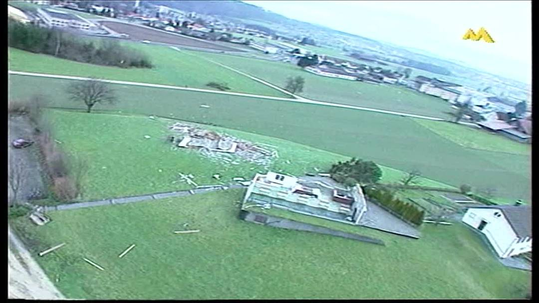 Orkan Lothar: Die Schadensbilanz vom Folgetag, 27. Dezember 1999