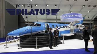 Ausstellung an der weltweit wichtigsten Messe für Geschäftsflugzeuge: Pilatus zeigt seinen PC-24 in Las Vegas. (Archivbild)