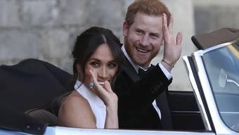 Und tschüss: die erste grosse Auslandreise führt Prinz Harry und seine Meghan im Oktober in den Pazifikraum.