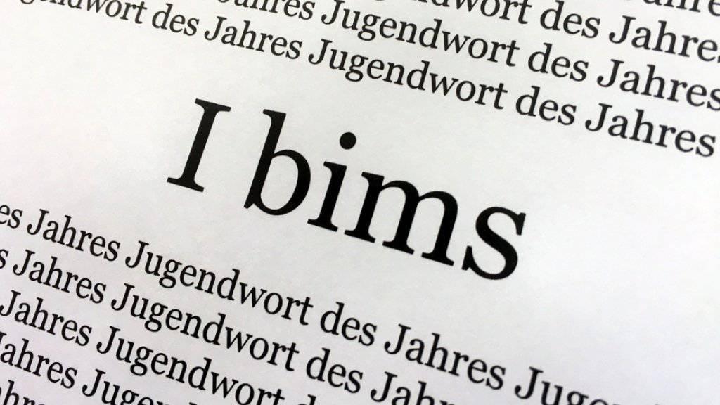 «Ich bin's» oder eben «I bims», das deutsche «Jugendwort des Jahres».