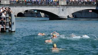 Das Limmatschwimmen im 2013.