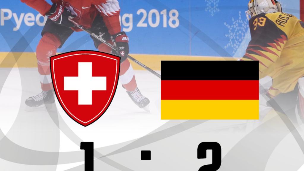 Eishockey-Nati scheitert an Deutschland