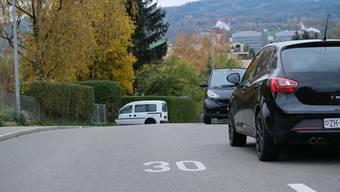 2012 führte die Gemeinde auf den meisten Strassen im südlichen Dorfteil Tempo 30 ein. Jetzt steht der nördliche Dorfteil an.