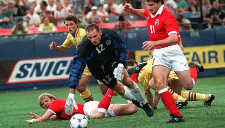 WM 1994 Sieg gegen Rumänien