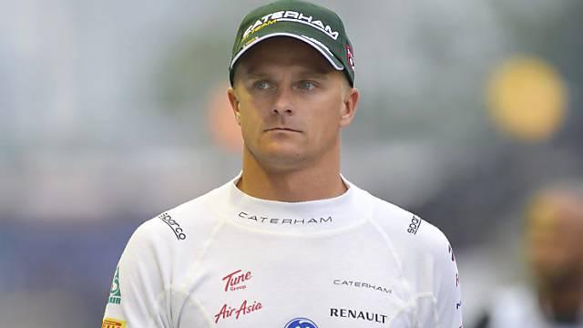 Heikki Kovalainen kehrt wieder in den Formel-1-Zirkus zurück