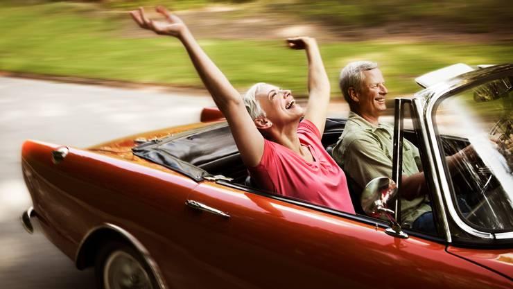 Spass geht auch im Alter noch.