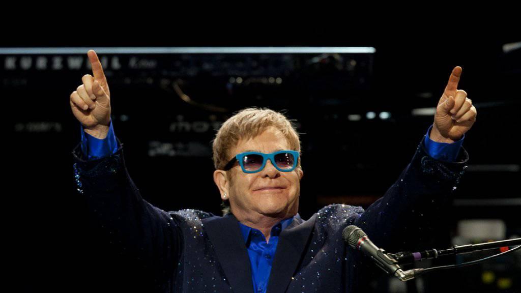 Sir Elton John wurde von einem falschen Putin hereingelegt (Archiv).