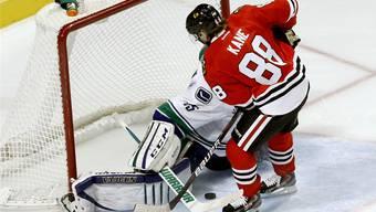 Bei den Chicago Blackhawks in blendender Verfassung: Biels NHL-Lockout-Gast Patrick Kane.