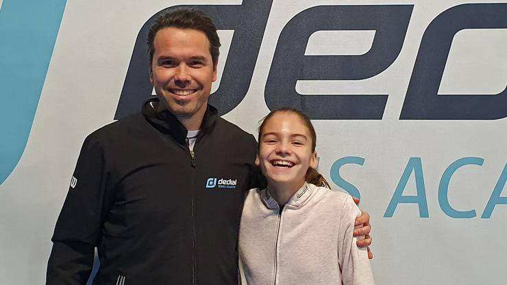 Nach Chelsea Fontene lässt sich bereits das nächste Top-Talent, die 12-jährige Lara Cebic, in der dedial TENNIS ACADEMY in Birrhard/AG ausbilden.