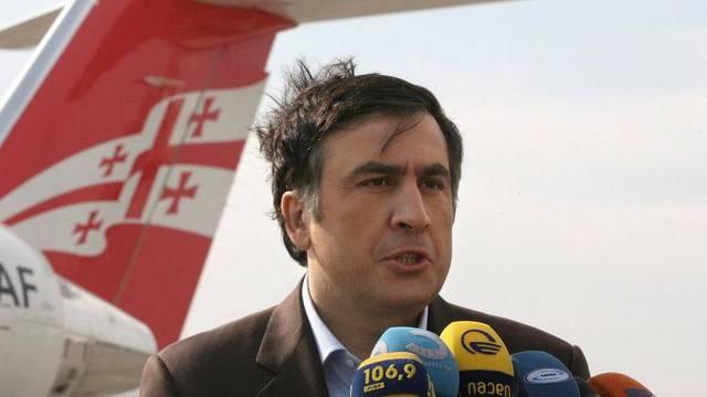Im Gegenwind: Georgiens Präsident Michail Saakaschwili (Archiv)