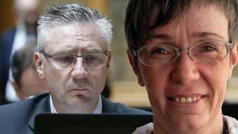 Möglicherweise findet der Twitterstreit zwischen Andreas Glarner und Moni Nielsen vor Gericht eine Fortsetzung.