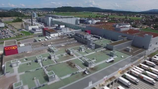 Eröffnung des Coop Logistikzentrums Schafisheim