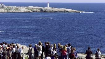 Küste bei Halifax Die Stelle, wo 1998 eine Swissair-Maschine ins  Meer stürzte