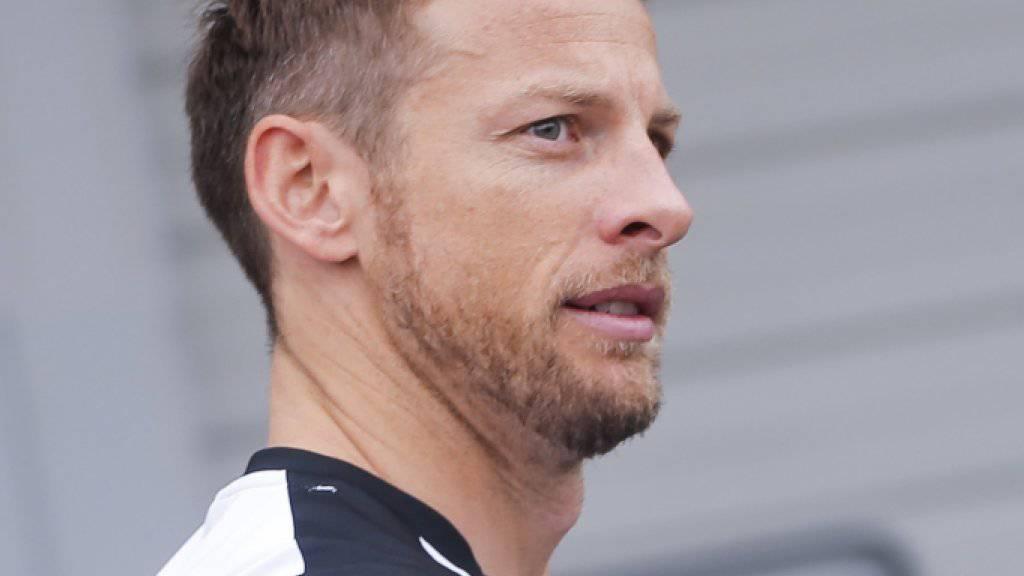 Jenson Button sitzt auch 2016 am Steuer eines Autos von McLaren-Honda
