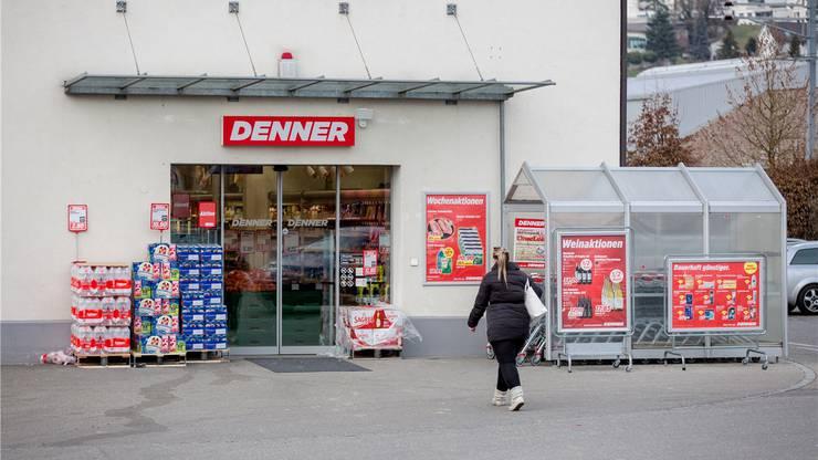 Denner in Döttingen: Hier schlug Burim K. nach der Einreise wieder zu.