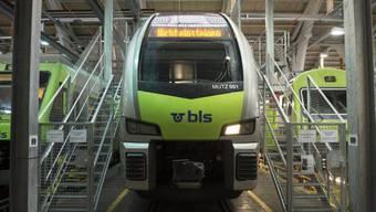 An der Bern-Lötschberg-Simplon Bahn BLS ist Grenchen mit stolzen 3200 Aktien beteiligt. (Symbolbild)