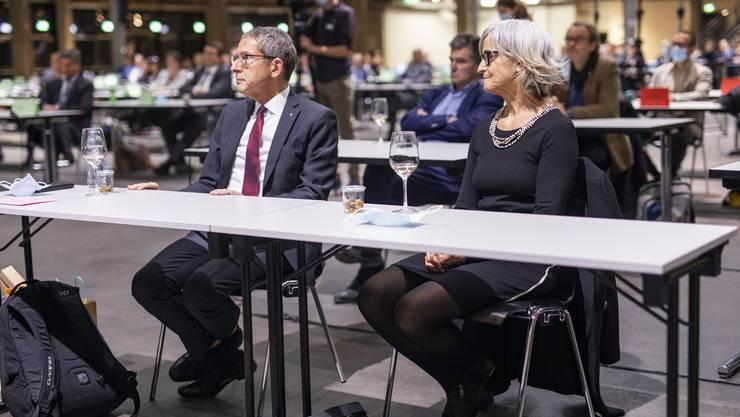 Ein verdienter Regierungsrat und 32 Grossrätinnen und Grossräte wurden in Spreitenbach verabschiedet.