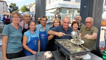Die Pizzoccheri waren am Samstag der Renner am Herbstmarkt in Dietikon.