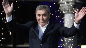 Belgiens Radsport-Legende Eddy Merckx