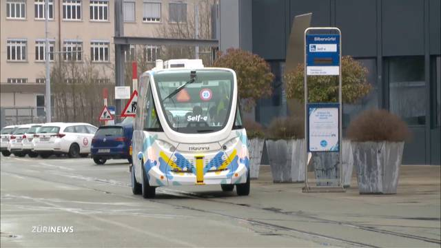 VBZ testen Bus ohne Chauffeur