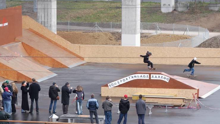 2004 wurde die Rollsportanlage im  Baregg eröffnet.