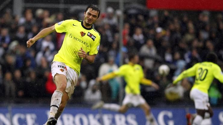 Der Aufsteiger freut sich über Tore des FCB gegen Luzern.