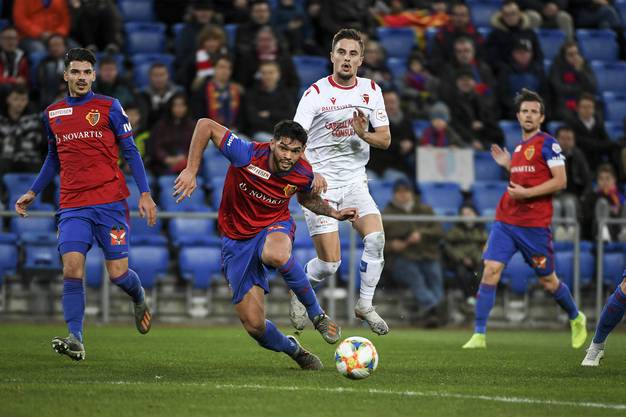 Weitere Impressionen vom Spiel zwischen Basel und Sion.