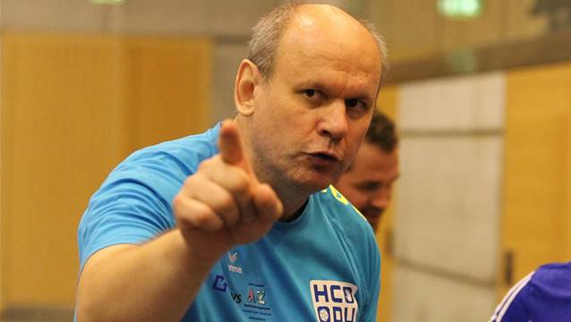 HCDU-Trainer Jan Sedlacek verlor mit seinem Team beim TV Uster.