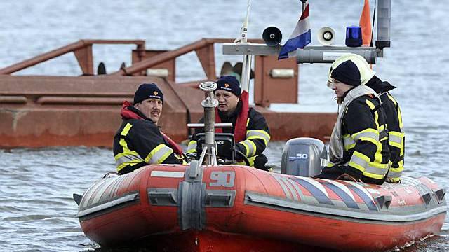 Rettungskräfte am Ort des Unglücks