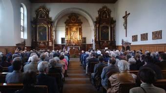 Früher wurden in der Klosterkirche Gottesdienste abgehalten, im August wird der nicht mehr geweihte Raum für zweieinhalb Wochen zum Theaterspielort. Archiv