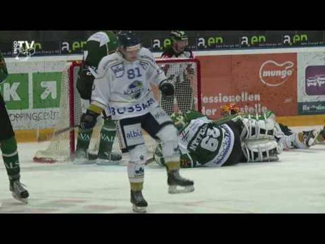 Highlightvideo von EHC Olten -  EVZ Academy 3:4; 14. Meisterschaftsspiel NLB 16/17