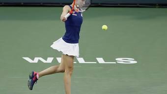 Viktorija Golubic konnte Madison Keys nur selten fordern (Archivbild)