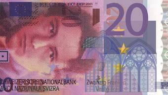 20 Franken entsprechen zurzeit ziemlich genau 20 Euro: Dieser Kurs ist für die Schweizer Exportwirtschaft und den Tourismus gefährlich – die Konsumenten profitieren davon.