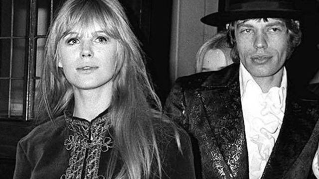 Marianne Faithfull und Mick Jagger 1967 in London (Archiv)