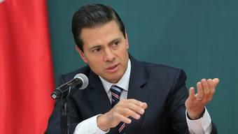 Peña Nieto: Hat Trumps Hemdsärmeligkeit wenig entgegenzusetzen.