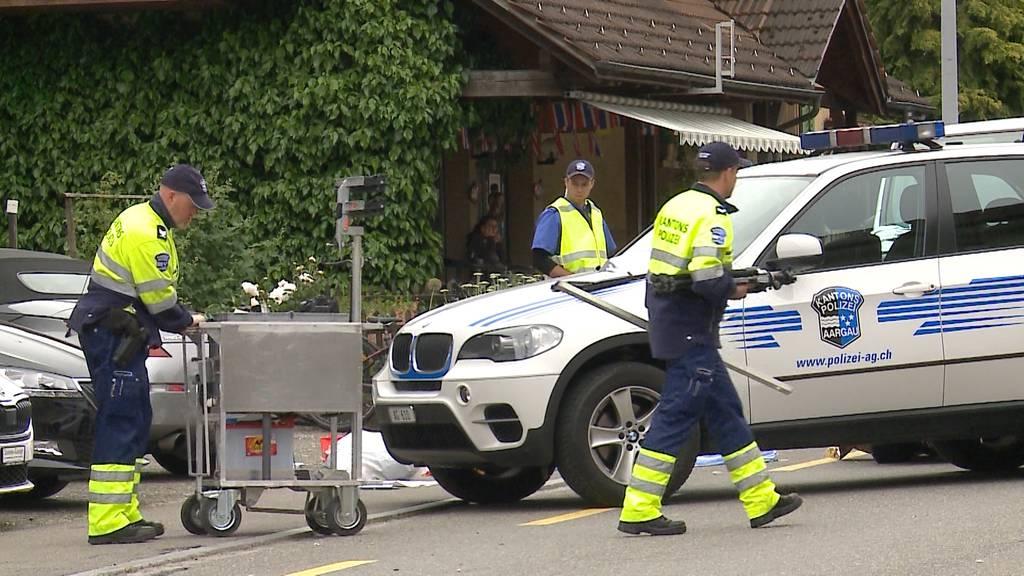 Unfall Moosleerau: Knabe stirbt noch auf der Unfallstelle