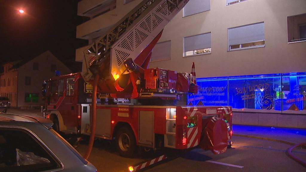 41-Jähriger nach Wohnungsbrand ins Spital gebracht