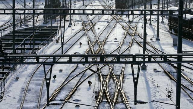 Kaltes Wetter macht der Bahn zu schaffen (Archiv)